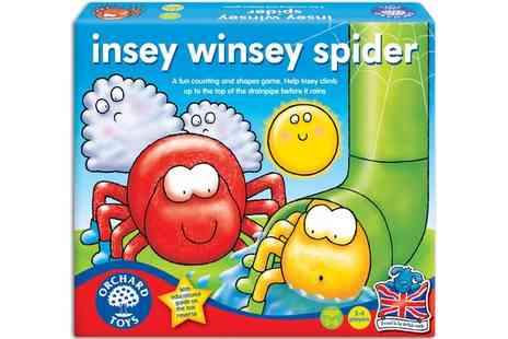 Groupon Goods Global GmbH - Orchard Toys Insey Winsey Spider Board Game - Save 11%