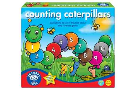 Groupon Goods Global GmbH - Counting Caterpillars Childrens Game - Save 11%