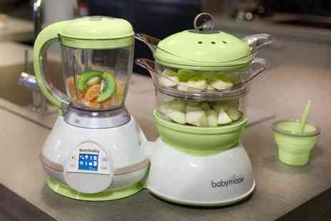 Groupon Goods Global GmbH - Babymoov Nutribaby Five In One Food Processor - Save 18%