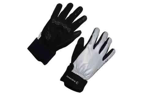Groupon Goods Global GmbH - Tenn Outdoors Fully Reflective Cycling Gloves - Save 55%