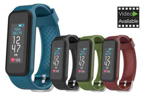 Groupon Goods Global GmbH - Archon Move Activity Tracker with Heart Rate Monitor Include Free Delivery - Save 0%