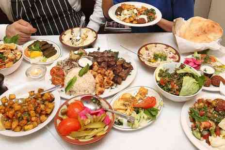 The Cedar - Eight Dish Lebanese Tasting Menu with Sides - Save 60%