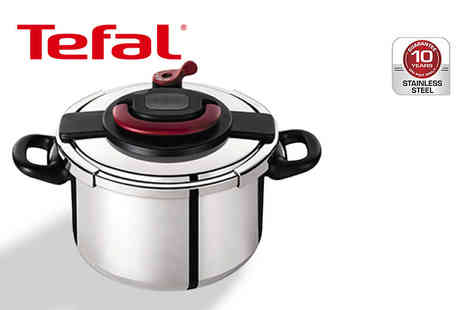 Dream Price Direct - Tefal Clipso six litre pressure cooker - Save 55%