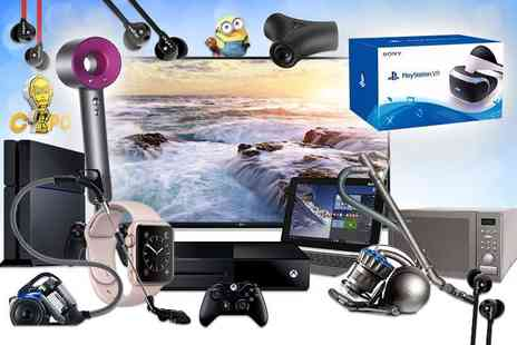 HCI Distribution - Mystery Electronics Deal Get a Dyson Supersonic hairdryer, LG 49 Inch UHD 4K TV, Sony PS4, Apple Watch and more - Save 0%