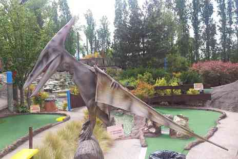 Mr Mulligans Dino Golf - Family ticket for two adults and two children - Save 52%