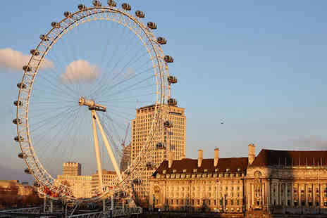OMGhotels - London Eye Experience, 1 Night Stay With Planet Hollywood Dinner and Breakfast - Save 35%
