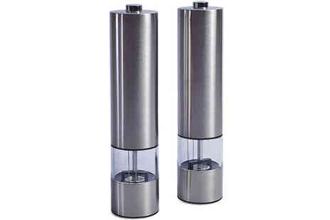 TLD Marketing - Electric Salt or Pepper Mill Grinder - Save 29%