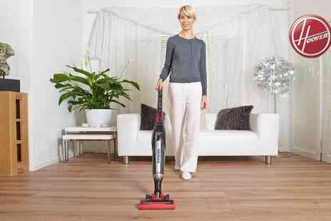 Groupon Goods Global GmbH - Hoover Cordless Stick Vacuum Cleaner With Free Delivery - Save 68%