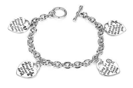 Groupon Goods Global GmbH - One or Two Love Live Sing Dance Multi Charm Bracelet - Save 79%