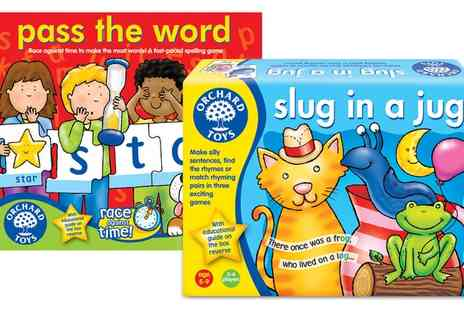 Groupon Goods Global GmbH - Orchard Toys Literacy Games - Save 13%