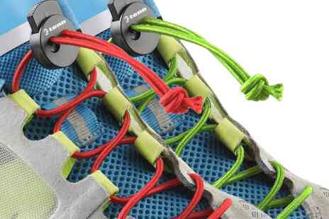 Groupon Goods Global GmbH - Tenn Outdoors Elastic Locking Race Laces One Size in Choice of Colour - Save 67%