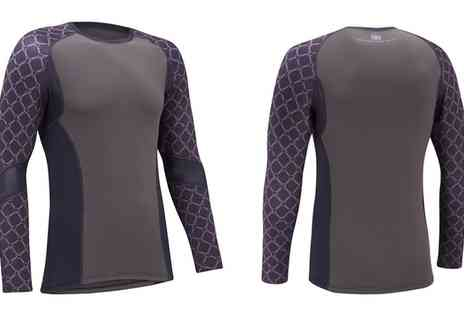 Groupon Goods Global GmbH - Tenn Outdoors Mens Sublimated Base Layer - Save 60%