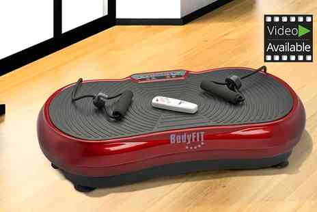 Groupon Goods Global GmbH - BodyFit Slimline Vibration Plate With Free Delivery - Save 56%