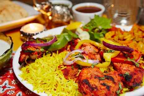 Indian Palace - Three Course Indian Meal for Two or Four - Save 49%