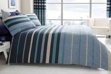 Groupon Goods Global GmbH - Stripes Duvet Set  - Save 65%