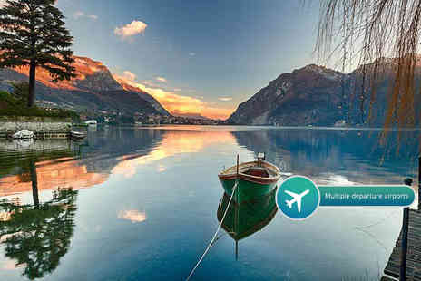 Tour Center - Two or three night 4 Star Lake Como break with breakfast and flights - Save 29%