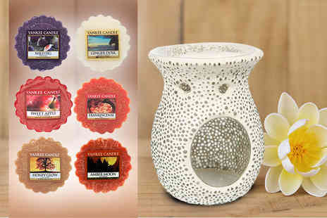 Dream Price Direct - Yankee Candle melt warmer and one wax melt - Save 52%
