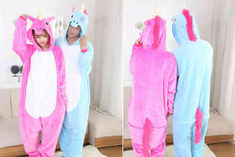 EF Mall - Pink unicorn onesie - Save 69%