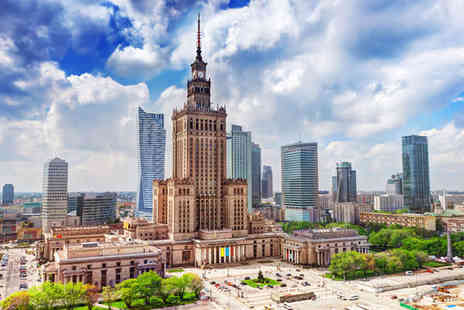Sheraton Warsaw - Five Star 3 nights Stay in a Deluxe Room - Save 67%