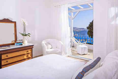 Rhenia Mykonos - Four Star 10 nights Stay in a Standard Sea View Room - Save 80%