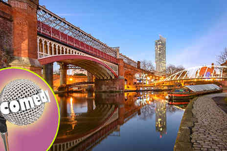 OMGhotels - Comedy Show, Manchester 1 Night Hotel Stay With Ticket - Save 22%
