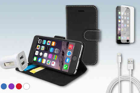 Online goods - Accessories Bundle for iPhone 6 or 6 Plus - Save 74%