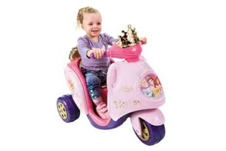 Groupon Goods Global GmbH - Scooty Disney Princess Ride On 6V Trike With Free Delivery - Save 11%