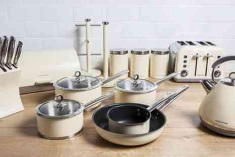 Groupon Goods Global GmbH - Morphy Richards Complete Kitchen Set With Free Delivery - Save 53%