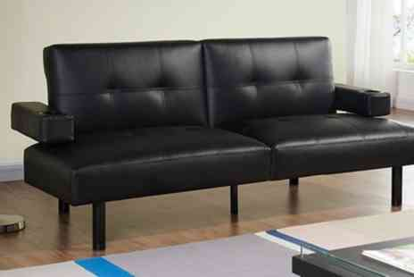 Groupon Goods Global GmbH - Hilton Cinema Style Sofa Bed With Free Delivery - Save 70%