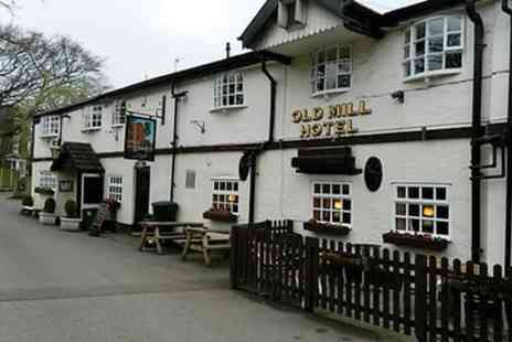 The Old Mill Alsager - One to Three Nights Stay for Two with Wine and Option for Dinner - Save 0%