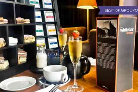 The White Bar - Afternoon Tea for Two with Optional Prosecco - Save 32%