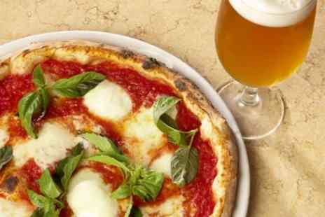 La Strada - Two Pizzas and Beers for Two - Save 59%
