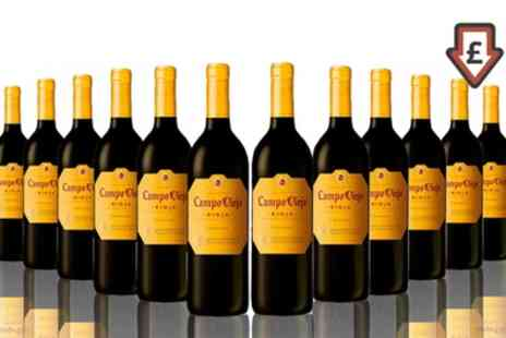 The Vineyard Club - 12 Bottles of Campo Viejo Rioja Crianza With Free Delivery - Save 50%