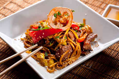 Thai Brasserie - £40 voucher to spend on food and drink for two people - Save 50%