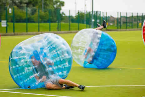 Spartacus Bubble Soccer - Bubble football for up to ten people - Save 60%