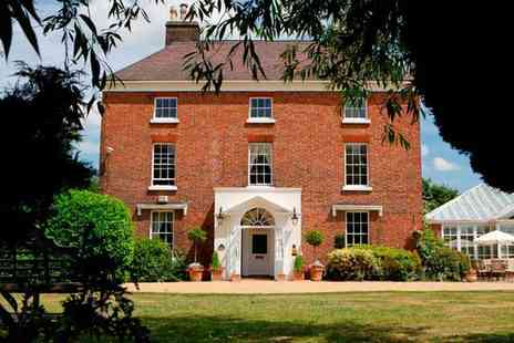 The Hadley Park House Hotel - Overnight Shropshire stay for two with breakfast and two course dining - Save 49%