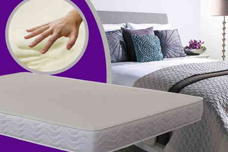 The Sleep People - Deluxe cool feel memory foam mattress choose from five sizes - Save 85%