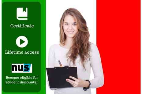 OfCourse - An online beginners Italian course - Save 91%