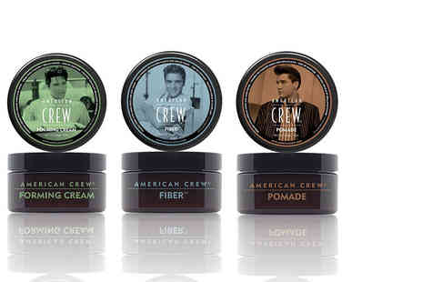 Mr Books - 85g pot of American Crew hair product choose from three styles - Save 59%
