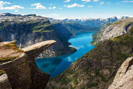 Norwegian fjords fly and drive - Seven nights accommodation as per itinerary - Save 0%