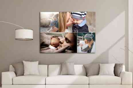 Grangeprint.com - A2 Large Collage Canvas Print - Save 89%