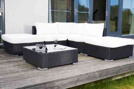 Groupon Goods Global GmbH - Outdoor Conservatory Furniture Set With Free Delivery - Save 63%