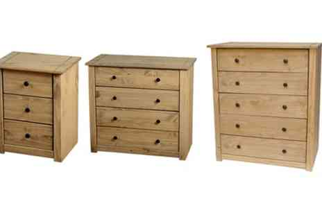 Groupon Goods Global GmbH - Panama Bedroom Furniture With Free Delivery - Save 0%