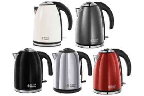 Groupon Goods Global GmbH - Russell Hobbs 1.7L Jug Kettle in Choice of Colour - Save 60%