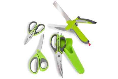 Groupon Goods Global GmbH - Tower Health Set of Four Multi Action Scissors - Save 68%