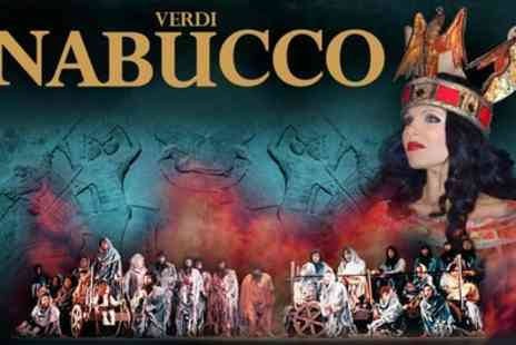 ATG Tickets - One ticket to see Verdi's Opera Nabucco on Friday 3 March - Save 50%