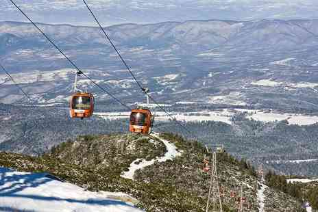 Tour Center - Four Star Three Nights half board Bulgaria ski break with spa access and flights - Save 40%