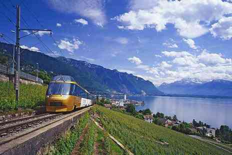 Weekender Breaks - Three nights Stay Switzerland break with a Golden Pass tour - Save 0%