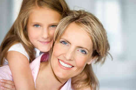 Shutterbug Photography Studio - Mother and daughter photoshoot with one 5 Inch x 7 Inch and four 3 Inch x 2 Inch prints - Save 70%