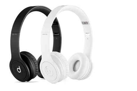 Ckent Ltd - Pair of Beats Solo HD headphones bringing the bass in black or white - Save 52%